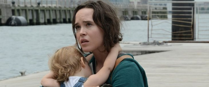 Escena con la actriz Ellen Page dentro de la cinta Tallulah