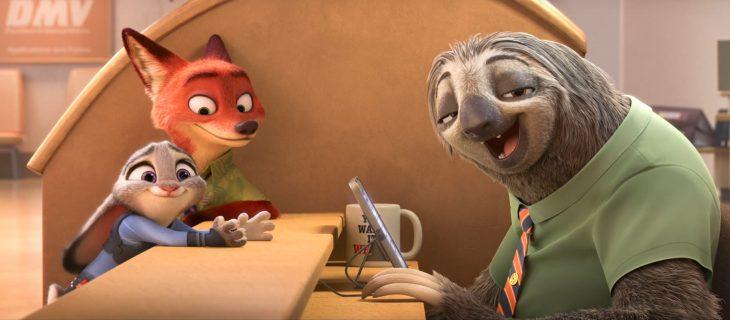 Escena de la película Zootopia
