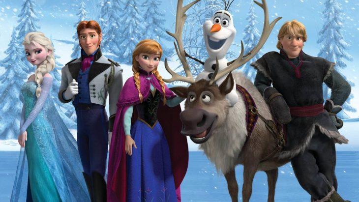 Escena de la película Frozen