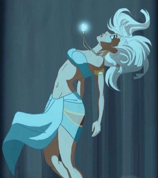 Escena de la película Atlantis: el imperio perdido