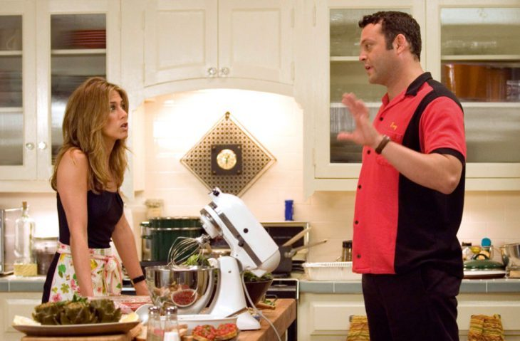Escena de Break Up con Jennifer Anniston