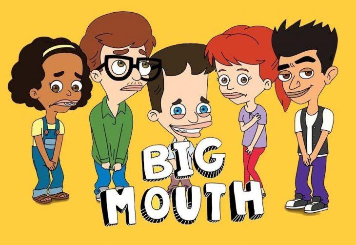 Dibujo animado de la serie Big Mouth