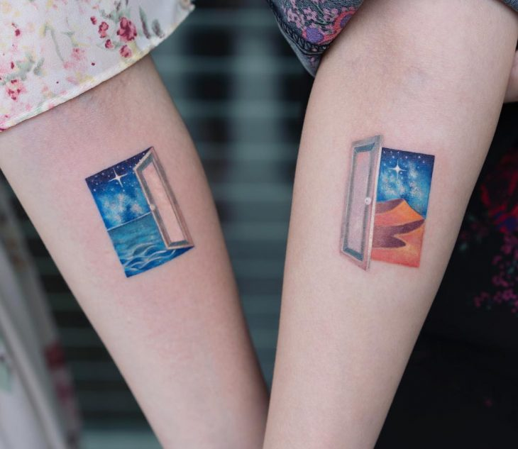 Tatuajes para amigas de pinturas famosas en el brazo, Edward Hoper