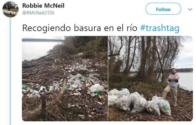 Jóvenes alrededor del mundo se unen al TrasChallenge para recoger basura