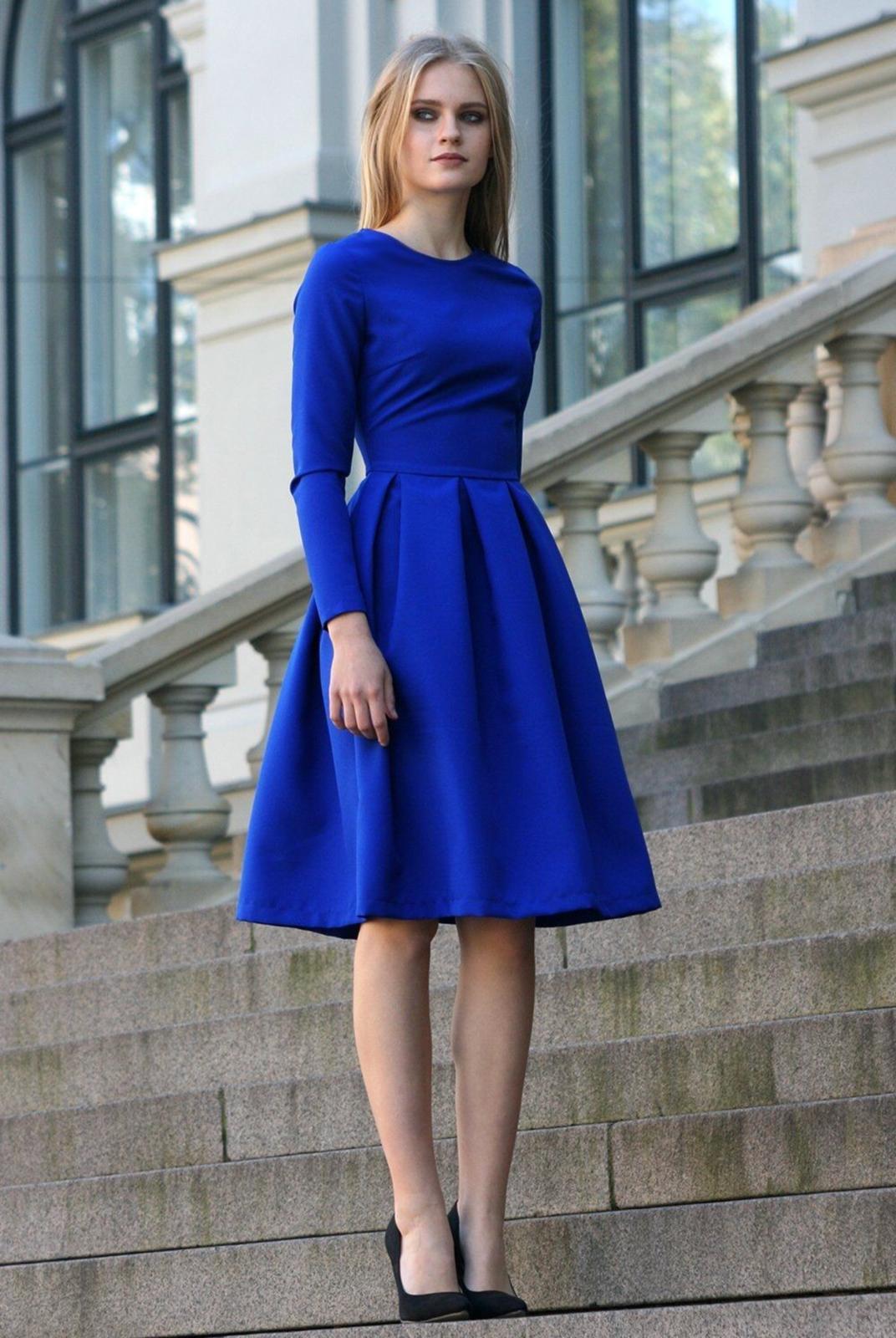 Bonitos Y Elegantes Vestidos Azul Royal Para Tu Graduación