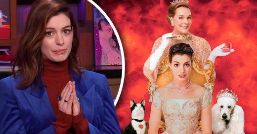 Anne Hathaeay confirma que están trabajando en El Diario de la princesa 3