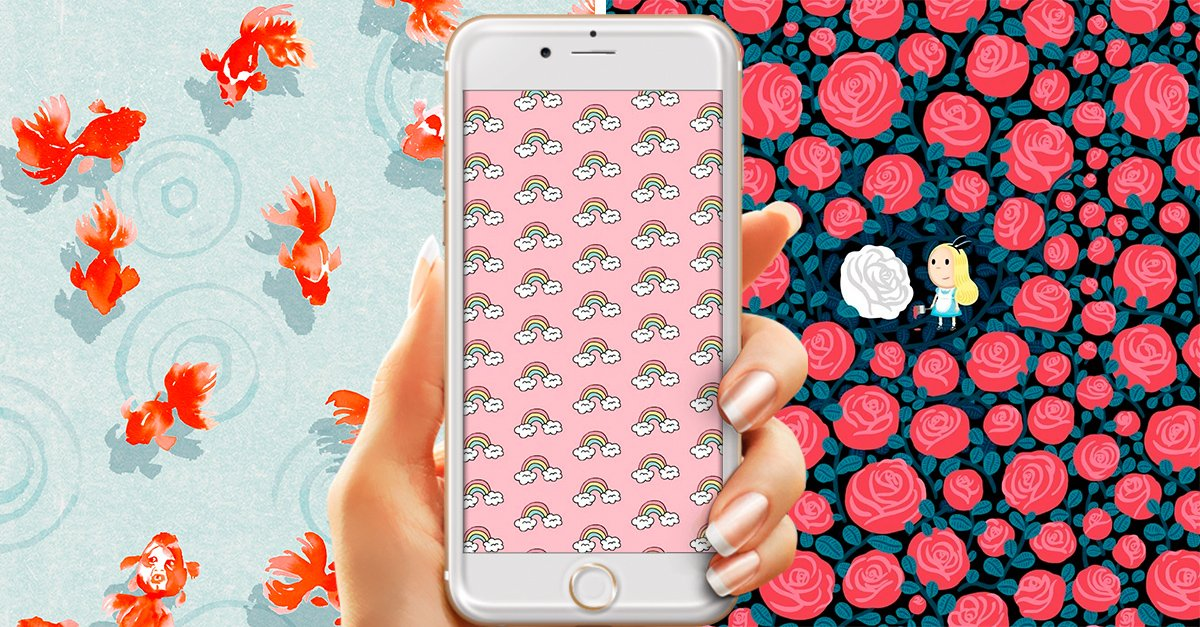 20 Fondos de pantalla para que le des a tu celular un toque tierno