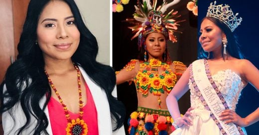 Ella es Yukaima González, la primera reina de belleza indígena