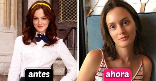 19 Fotografías del antes y después del elenco de 'Gossip Girl'
