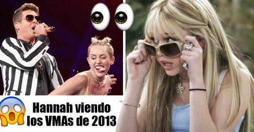 Miley Cyrus celebra los 13 años de 'Hannah Montana' con una sesión de meses
