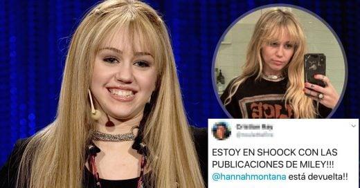 Miley Cyrus regresa a Hannah Montana