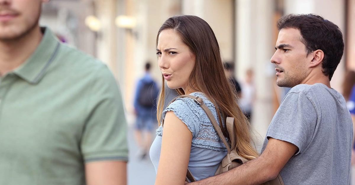 El 50% de las mujeres tienen un hombre de 'reserva' por si su actual relación falla