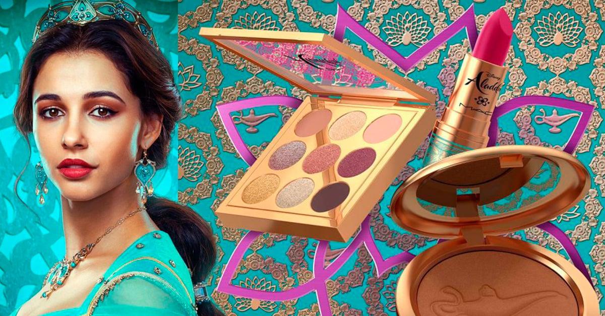 MAC Lanza nueva línea de maquillaje inspirada en Jazmin de 'Aladdín'