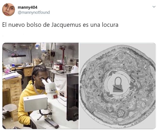 Memes sobre el monibolso de Mini bolsos creados por Jaquemus