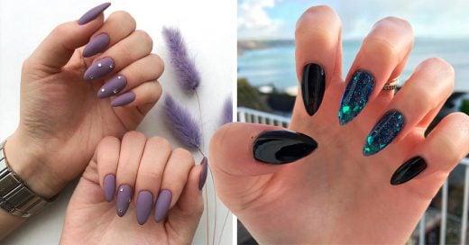 15 Diseños de uñas almendra que serán tendencia en 2019