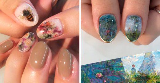 Artista japonesa transforma uñas en increíbles obras de arte
