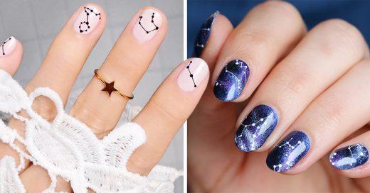 15 Diseños de constelaciones para unas uñas de otro mundo