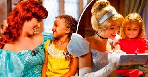 Esta familia británica esta buscando niñera que se vista de princesa todo el tiempo