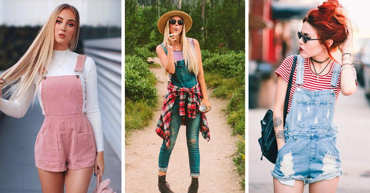 16 Ideas de outfits que te harán desempolvar tus overoles