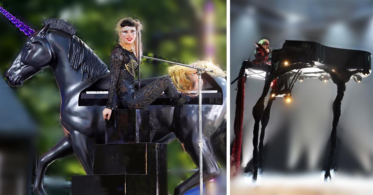 Los increíbles pianos de Lady Gaga que demuestran que viene de otro planeta