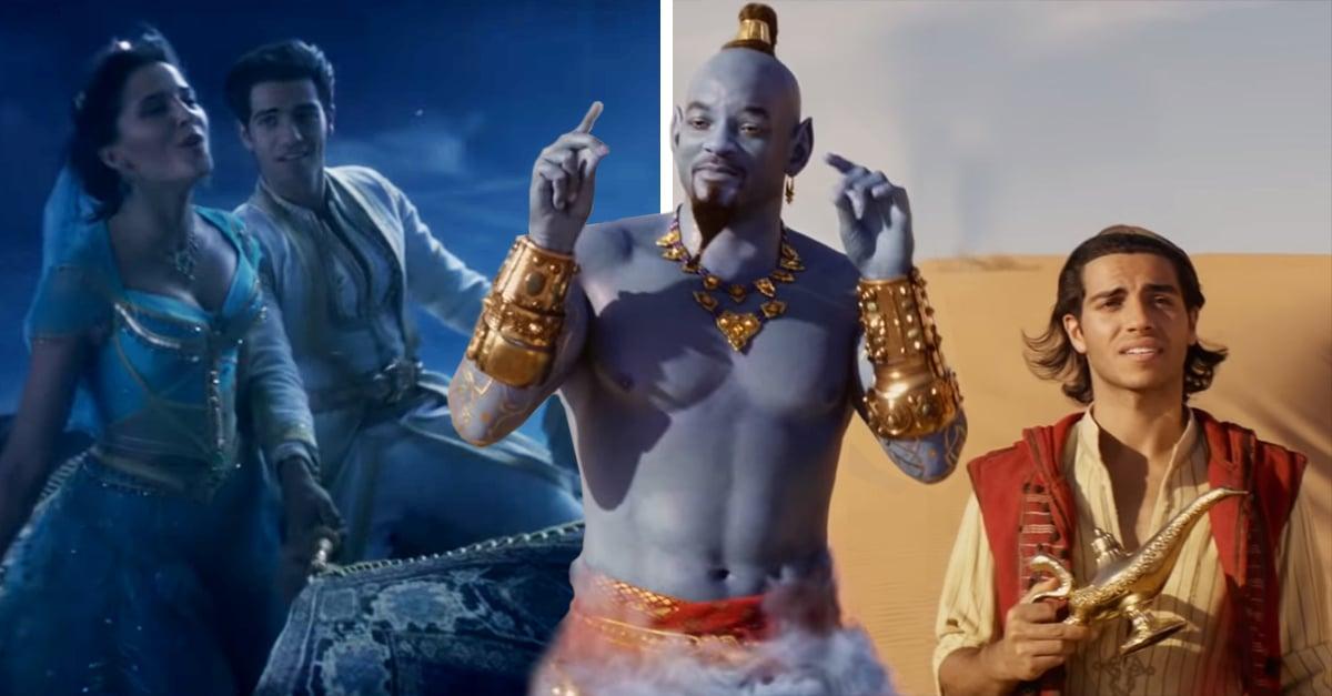 Aladdin es una de las películas de Disney que dejó la animación para entrar al popular formato de acción real.