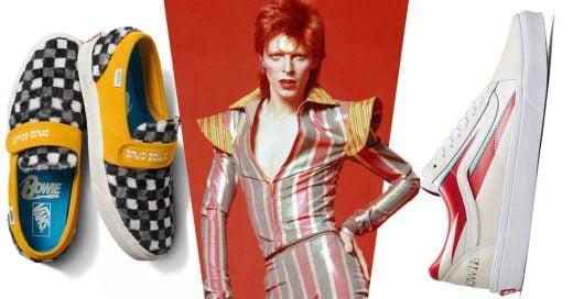 Vans lanzará colección inspirada en David Bowie