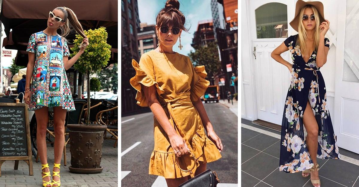 15 Lindos vestidos para dominar la primavera con estilo y glamur