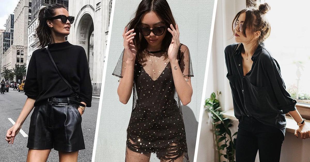 Mujeres inseguras visten de negro, según la psicología