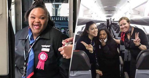 Portada American Airlines contrata a su primera azafata con Síndrome de Down