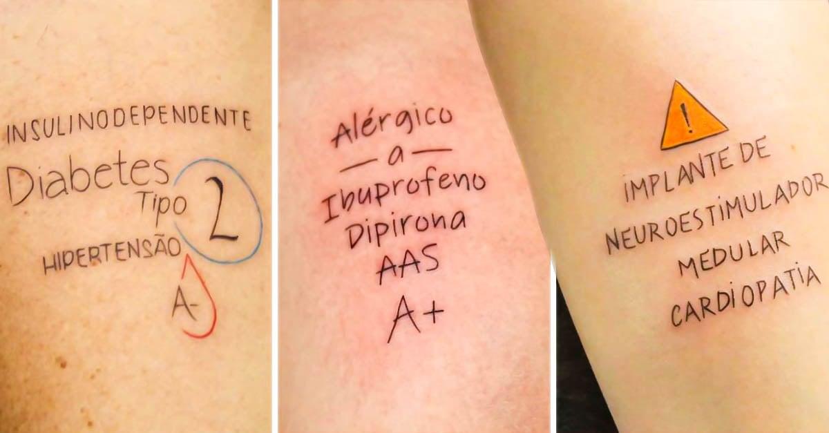 Portada tatuador de Brasil regala tatuajes
