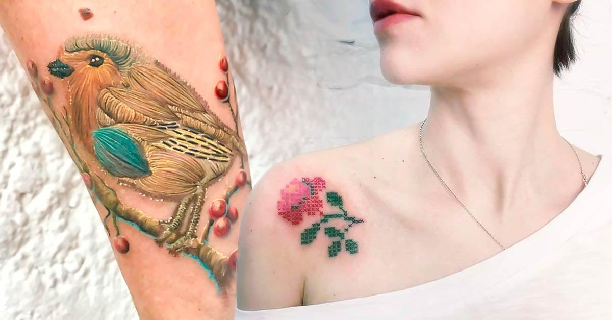 Portada tatuajes de bordados