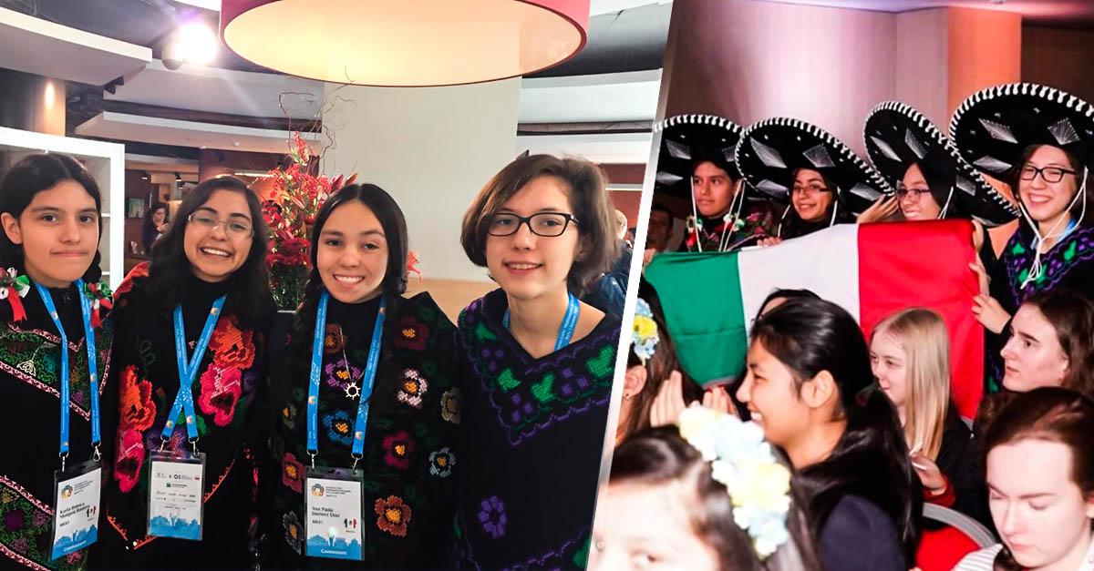Portada Mexicanas ganan oro y plata en Olimpiada Internacional de Matemáticas