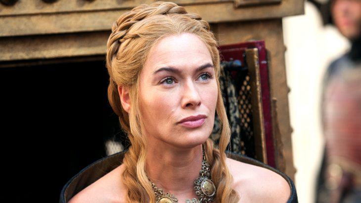 El personaje de Cersei Lannister interpretada por la actriz Lena Headey