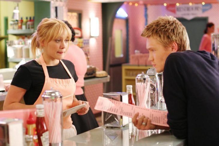 La actriz Hilary Duff junto al actor Chad Michael Murray