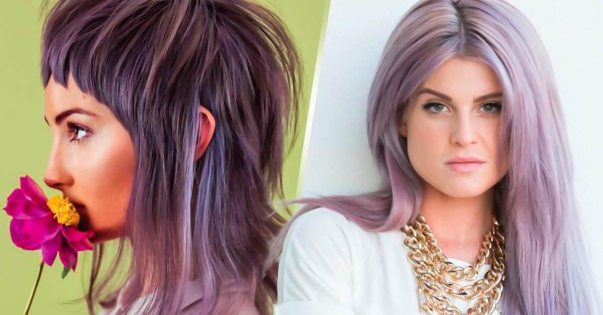 Portada Lavender gray, el color de cabello que deberías intentar