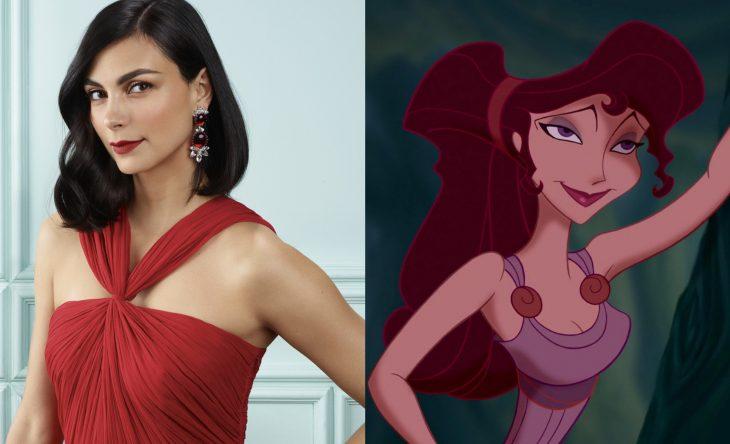 Princesas de películas Disney si fueran famosas de la vida real, actriz Morena Baccarin como Megara de la película Hércules