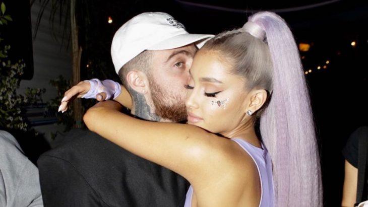 El rapero Mac Miller y la cantante Ariana Grande