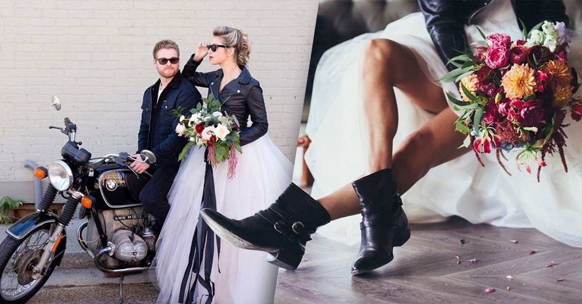 Portada ideas para una boda inspirada en motos