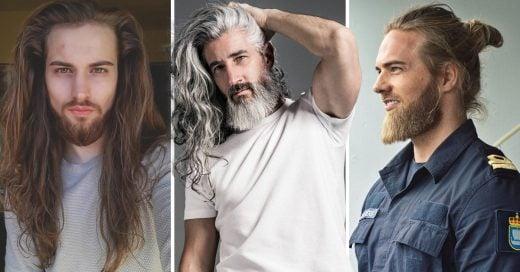 Portada 20 Hombres de cabello largo a los que querrás hacerles piojito
