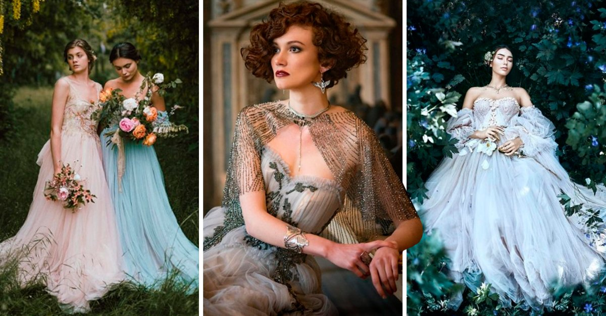 COVER Hermosos vestidos vintage de boda diseñados por Joanne Fleming