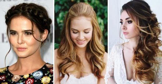 Portada Ideas de peinados según del vestido