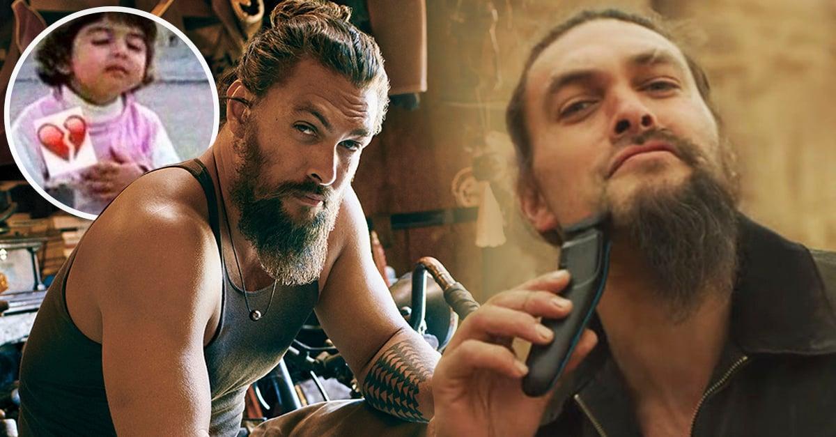 COVER Jason Momoa acaba de afeitar su barba y el resultado es atractivamente devastador