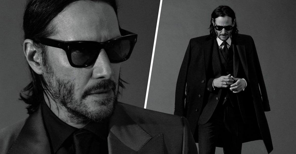 Portada Keanu Reeves sesión fotográfica para entrevista GQ