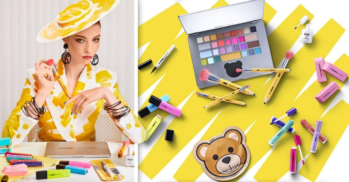 COVER Maquillaje inspirado en papelería