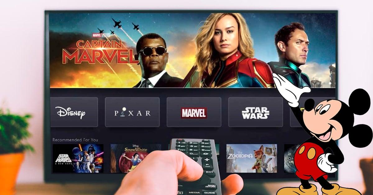 Portada nueva plataforma de streaming de Disney