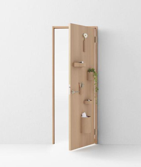 Door of a room with applications so you can place plants