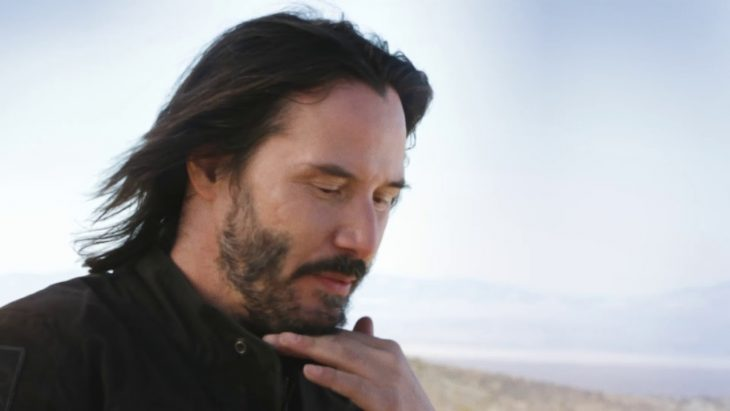 El actor Keanu Reeves en sesión fotográfica