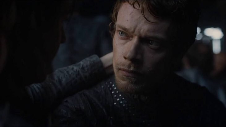 Personajes de Game of Thrones, Theon Greyjoy interpretado por Alfie Allen