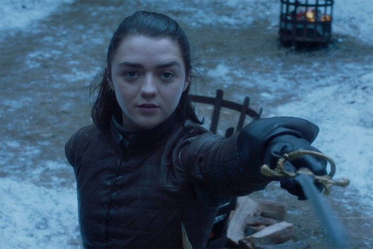 Personajes de Game of Thrones, Arya Stark ainterpretada por Maisie Williams