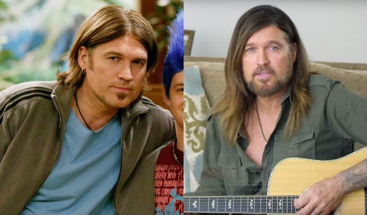 Elenco de serie Hannah Montana antes y ahora, Robby Ray Stewart interpretado por el cantante de country Billy Ray Cyrus, papá de Miley Cyrus